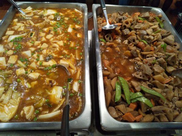 麻婆豆腐と煮込み